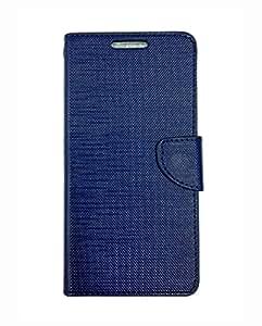 Fabson Flip Cover for Moto G4 Plus Flip Cover Case - Blue