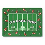 Creative Converting Its Game Time 14″ x 10″ Plastic Serving Tray, Football