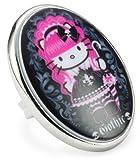 """Tarina Tarantino Hello Kitty """"Pink Head"""" Gothic Mod Ring, Size 6.5"""