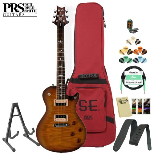 Paul Reed Smith Se 245 Tobacco Sunburst Electric Guitar Kit- Includes: Tuner, Cable, Strap, Stand, Pick Sampler And Prs Gig Bag