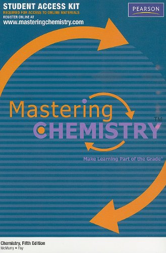 "MasteringChemistryâ""¢ Student Access Kit for Chemistry..."