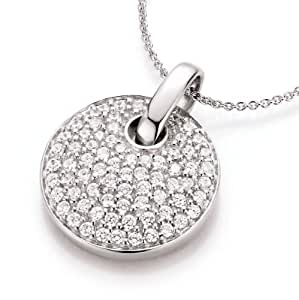 Spirit - New York Damen-Halskette 925 Sterling Silber Si rhod. 43cm 99000893430