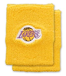 Los Angeles Lakers Team Logo Wristband by For Bare Feet