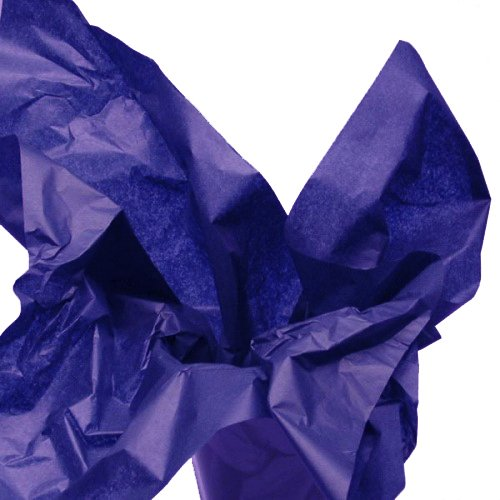 Dress My Cupcake DMC79501 100-Piece Tissue Paper, 20 by 14-Inch, Royal Blue