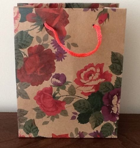 pack-of-12-natural-brown-gift-bags-floral-butterfly-design-wholesale-bulk-buy-floral-red-medium