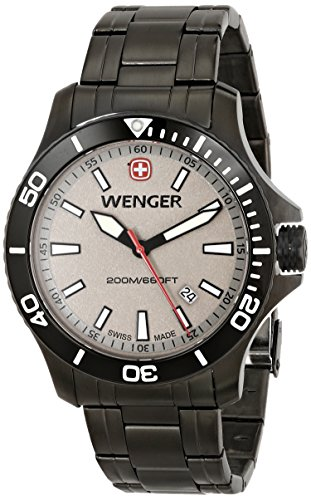 Wenger-Mens-0641107-Sea-Force-Stainless-Steel-Watch