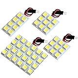 【断トツ150発!!】 GP7 スバルXV 後期 LED ルームランプ 4点セット [H26.11~] スバル 基板タイプ 圧倒的な発光数 3chip SMD LED 仕様 室内灯 カー用品 HJO