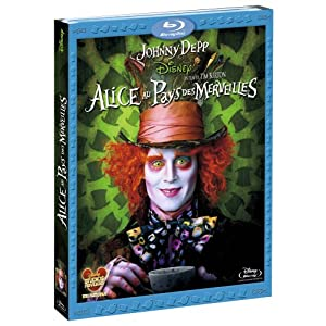 Alice In Wonderland - Edition Blu-ray (zone 2)