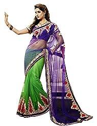 CSE Bazaar Women Indian Beautiful Fancy Sari Ladies Party Wear Exclusive Saree - B00SO6LLBE