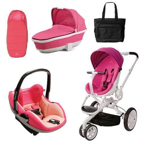 Quinny Cv078Bfu Moodd Prezi Complete Collection In Pink Passion front-952107