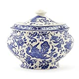 Regal Peacock Covered Sugar Bowl