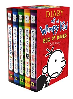 How many wimpy kid books are there