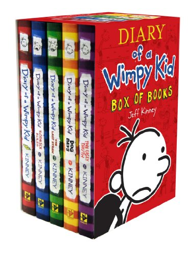 Diary of a Wimpy Kid Box of Books (1-5)