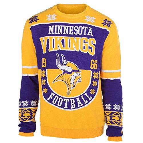 NFL Minnesota Vikings Unisex NFL Cotton Retro Sweater