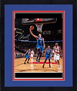 Framed Michael Carter-Williams Philadelphia 76ers Autographed 8