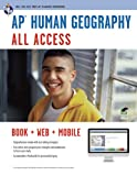 img - for AP Human Geography All Access Book + Online + Mobile (Advanced Placement (AP) All Access) book / textbook / text book