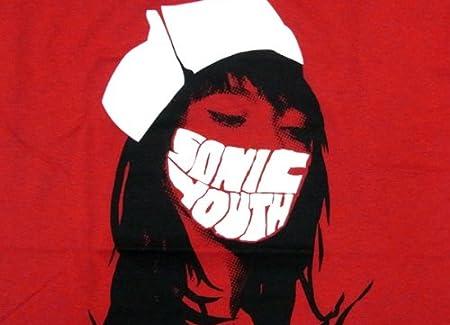 SONIC YOUTH - RED NURSE ソニック・ユース オフィシャル バンドTシャツ ロックTシャツ