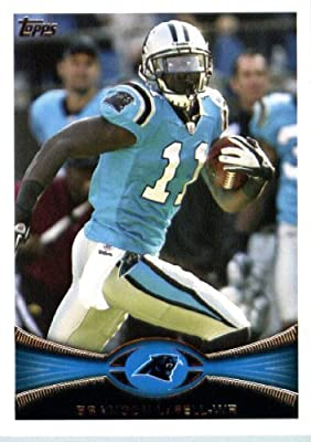 2012 Topps Football Card # 384 Brandon LaFell - Carolina Panthers (NFL Trading Card)