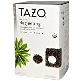 Tazo Teas, Organic Darjeeling, Black Tea, 20 Philtrebags, 1.6 oz (46 g)