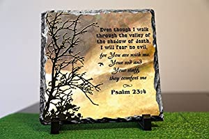 Even though i walk through the valley of the shadow of death psalm 23