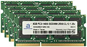 Adamanta 32GB (4x8GB) Apple Memory Upgrade for