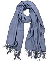 La Purse Pashmina Shawl Scarf, Warm & Extremely Soft, 130 Colors Available
