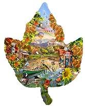 Autumn Shoreline a 1000-Piece Jigsaw Puzzle by Sunsout Inc.