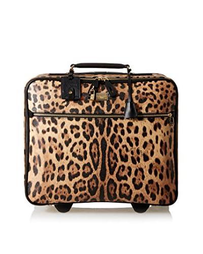 Dolce & Gabbana Women's Rolling Tote, Leopard