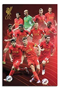 Liverpool FC Season 12/13 Players Poster - 91.5 x 61cms (36 x 24 Inches) by iPosters