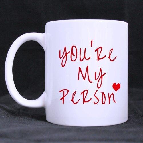 Welcome.Stile fresco Due Lati You Are My persona e I' m Your persona per tazza caffè o tè bianco-Non perdere-11once