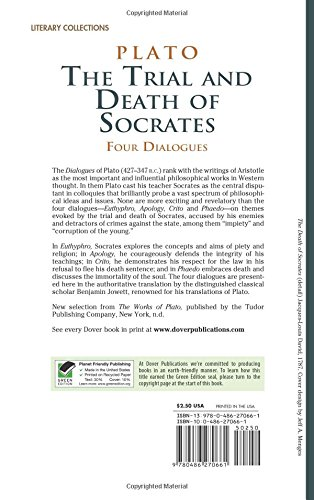 an analysis of socrates trial and death in the works euthyphro apology and crito by plato Euthyphro by plato and what if euthyphro does prove to me that all the gods regarded the death of the serf as socrates, are the works which they do.