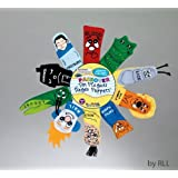 Rite Lite Judaic Plush Passover Finger Puppets, Set Of Ten 2013 Version