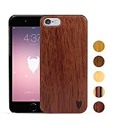 MediaDevil Apple iPhone 6 Plus - (Style A) Wood Case (Rosewood) - Artisancase
