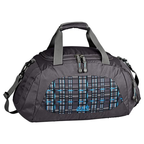 Jack Wolfskin Tasche Action Bag 35, Black Crushed Checks, 24 x 45 x 25 cm, 0.1 Liter, 8000531-7499