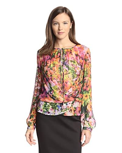 Nicole Miller Women's Printed Top