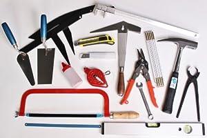 DachdeckerWerkzeugeSatz 31tlg GesellenLehrlingeSortiment Werkzeug Dach Wand  BaumarktÜberprüfung und Beschreibung