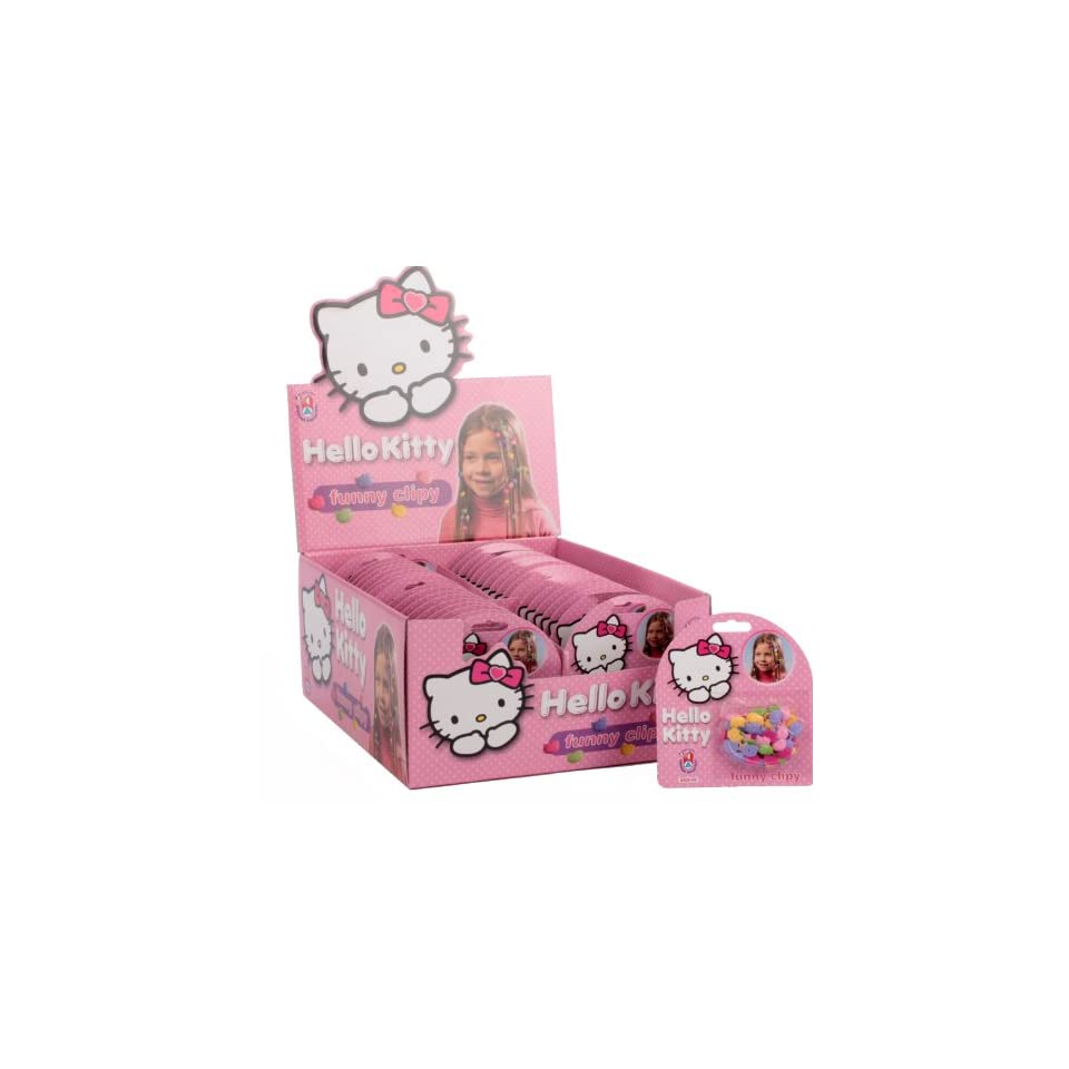 Hello Kitty Haarspangen Set GOTH KITTY grey Spielzeug