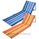 Portable Folding Adjustable Beach Mat...