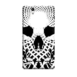 Skintice Designer Back Cover with direct 3D sublimation printing for Sony Xperia C4