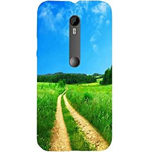 Casotec Scenery Design Hard Back Case Cover for Motorola Moto G Turbo
