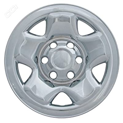 Coast To Coast IWCIMP68X 16 Inch Chrome Wheelskins With Access + Dbl Cab - Pack Of 4
