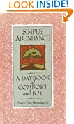 Simple Abundance : a Day Book of comfort and Joy