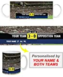 Stockport County F.C - Personalised Scoreboard Mug