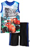 Disney Cars Boys 2-7 Tank Short Set