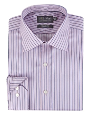 Luxury Pure Cotton Non-Iron Striped Shirt