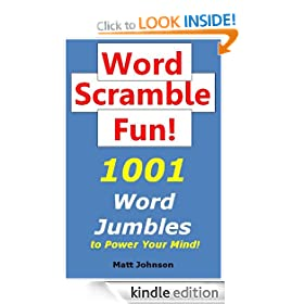 Word Scramble Fun: 1001 Word Jumbles to Power Your Mind! (Anagrams Fun Series)