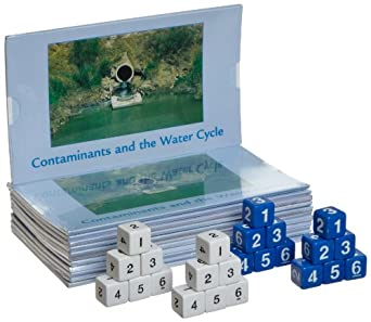 Lab-Aids 434S 66 Piece Contaminants and the Water Cycle Kit
