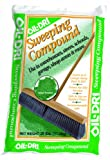 Oil-Dri L91025-G90 Sweeping Compound Bag, 25 lbs, Green