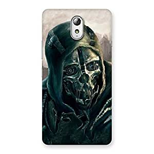 Luxirious Deadly Skull Back Case Cover for Lenovo Vibe P1M