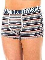 Baci & Abbracci Pack x 2 Bóxers (Gris Claro / Azul Marino / Coral)